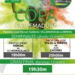 Cuatro equipos lucharán por el primer título de la temporada en la COPA DE EXTREMADURA 2019