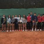 Jugadores cadetes de la FExT en el Torneo Nacional Marca Jóvenes Promesas de Sevilla