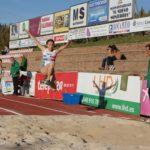 Lucía Sánchez vuela en el triple salto batiendo el récord absoluto extremeño en Villafranca de los Barros