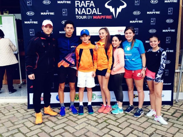 Resultados de los jugadores de la FExT en el Circuito Rafa Nadal Tour