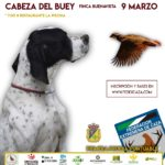 El Campeonato de Extremadura de San Huberto arranca el 9 de marzo con una primera fase puntuable en Cabeza del Buey